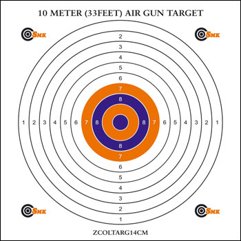 graphic about Printable Air Rifle Targets identify 5 Meter Air Rifle Concentration Pdf Printables - xpertsoftsoftth